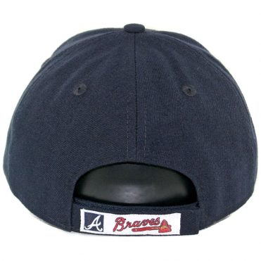 New Era 9Forty Atlants Braves The League Road Strapback Hat Dark Navy