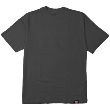 Dickies 1144624 2 Pack Pocket T-Shirt Charcoal