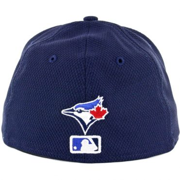 New Era 59Fifty Toronto Blue Jays Game 2017 Batting Practice On Field Fitted Hat Navy