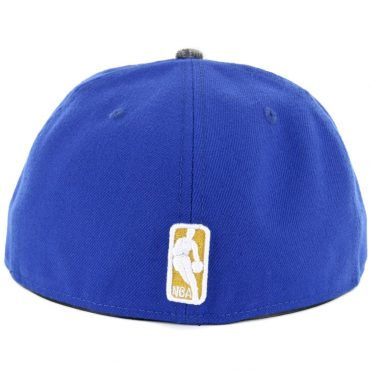 New Era 59Fifty Golden State Warriors Gripping Vize Fitted Hat Royal Blue