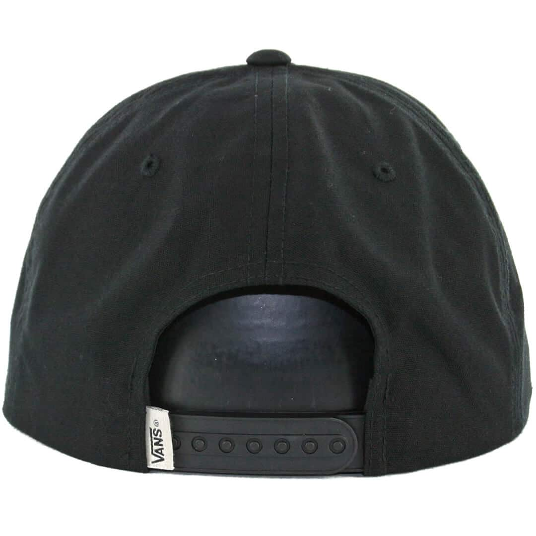 Vans Rowley Snapback Hat Black - Billion Creation Streetwear 79bf12a0276