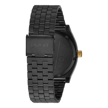 Nixon Time Teller Watch Matte Black Gold