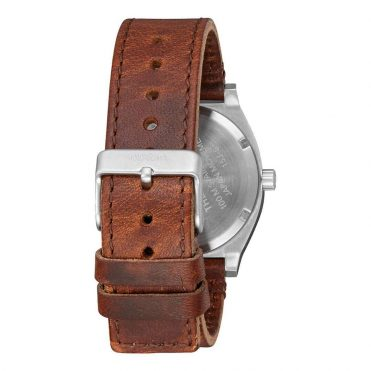 Nixon Time Teller Watch Surplus Brown