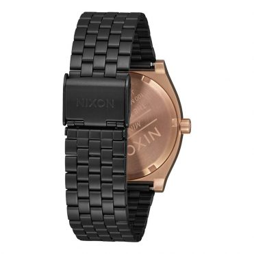 Nixon Time Teller Watch Black Rose