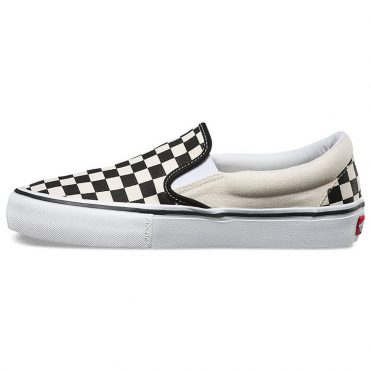 Vans Checkerboard Slip-On Pro Shoe Black White