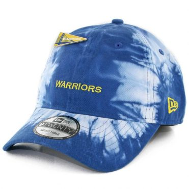 New Era 9Twenty Golden State Warriors Pin Snapback Hat Tie Dye