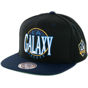 Mitchell & Ness Los Angeles Galaxy On the Spot Snapback Black