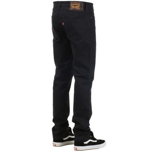Levi's Skate 511 Slim Fit 5 Pocket Jeans Caviar Bull