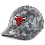 Mitchell & Ness Chicago Bulls Carbon Camo Flexfit Hat Crbon Camo