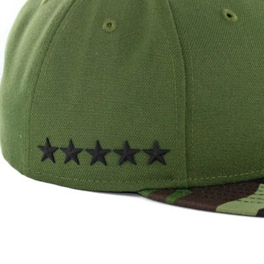 New Era 59Fifty Los Angeles Dodgers 2017 Memorial Day Fitted Hat Hunter Green Camo