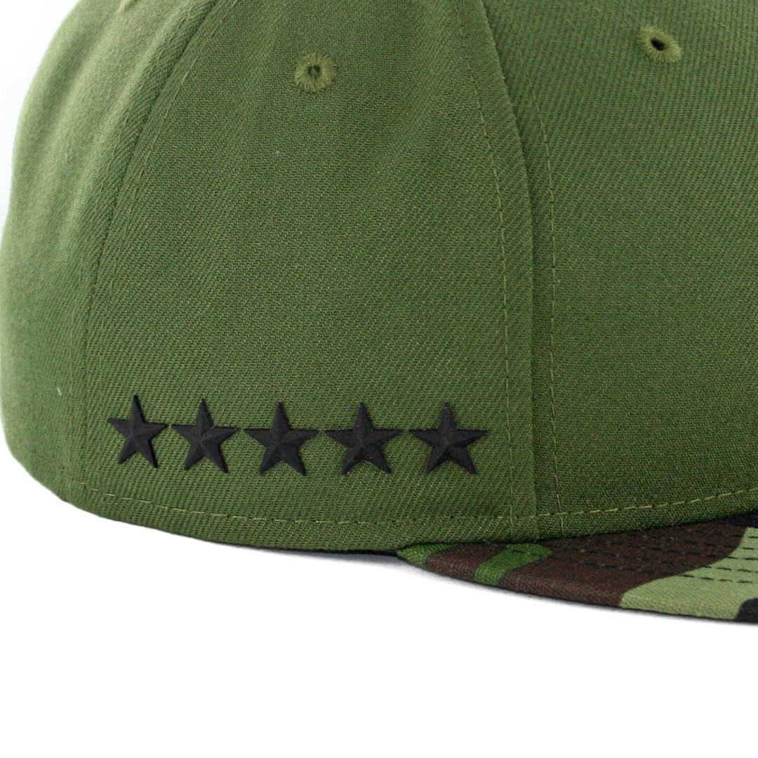 32dca68f49761 ... uk new era 59fifty los angeles dodgers 2017 memorial day fitted hat  hunter green camo 8c304