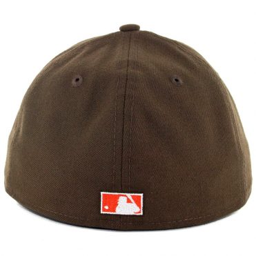 New Era x Billion Creation New Era 59Fifty Low Profile San Diego Padres 1985 Fitted Hat Brown White Orange