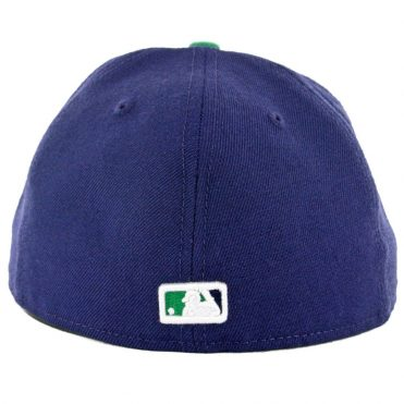 SD Hat Collectors x Billion Creation New Era 59Fifty San Diego Padres Fitted Hat Navy Grey White-Kelly Green