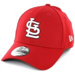 New Era 39Thirty Saint Louis Cardinals Game Team Classic Stretch Fit Hat Red