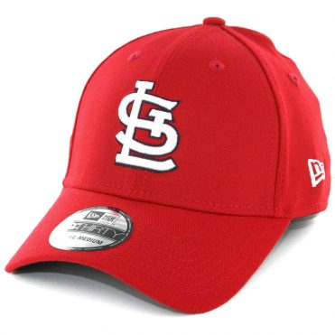 New Era 39Thirty St Louis Cardinals Game Team Classic Stretch Fit Hat Red