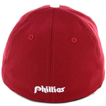 New Era 39Thirty Philadelphia Phillies CO Team Classic Stretch Fit Hat Cardinal