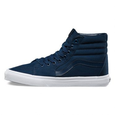Vans Sk8-Hi Mono Canvas Shoe Dress Blue