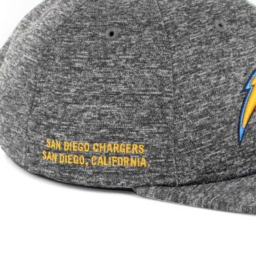 New Era 9Fifty San Diego Chargers City Sided Snapback Hat Graphite Static