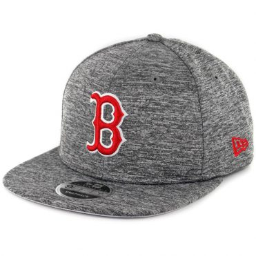 New Era 9Fifty Boston Red Sox City Sided Snapback Hat Graphite Static