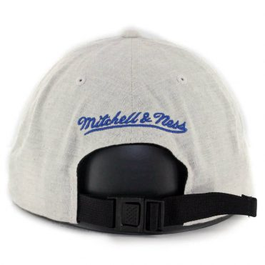 Mitchell & Ness Golden State Warriors Cotton Melange Strapback Hat Off White
