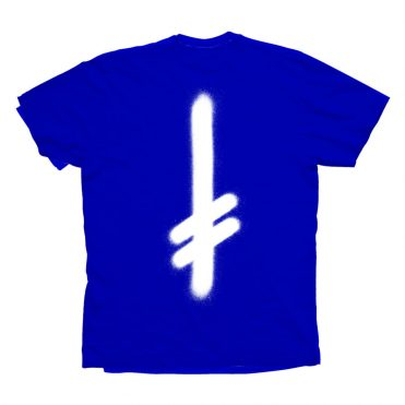 Deathwish The Truth T-Shirt Royal Blue White
