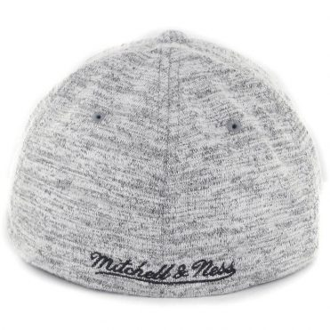 Mitchell & Ness Chicago Bulls All Knit Flexfit Hat Grey