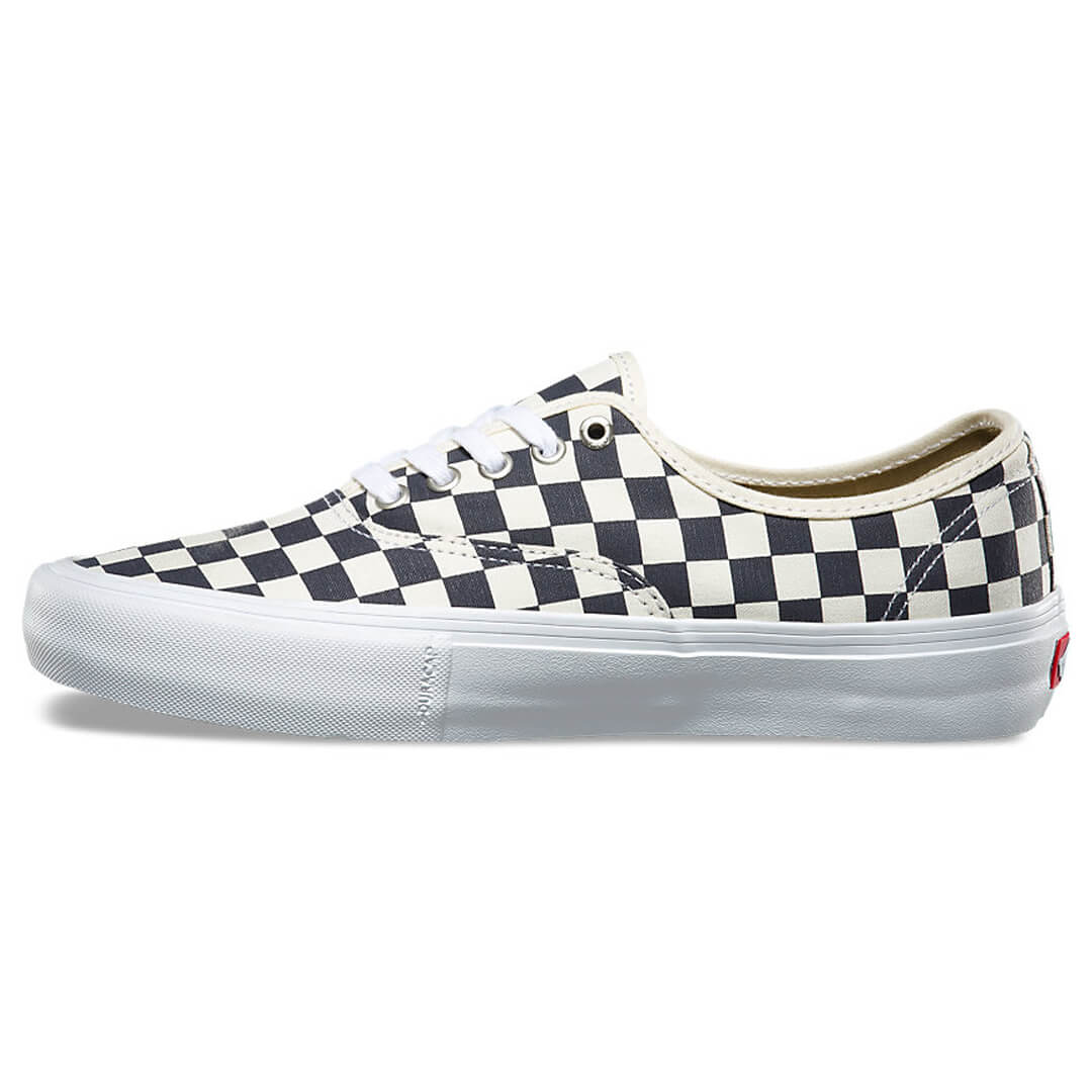 vans authentic pro shoes checkerboard navy