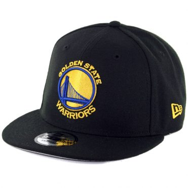 New Era 9Fifty Golden State Warriors 5x Champions Snapback Hat Black