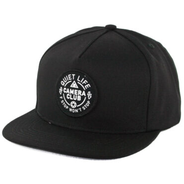 The Quiet Life Won't Stop Snapback Hat Black