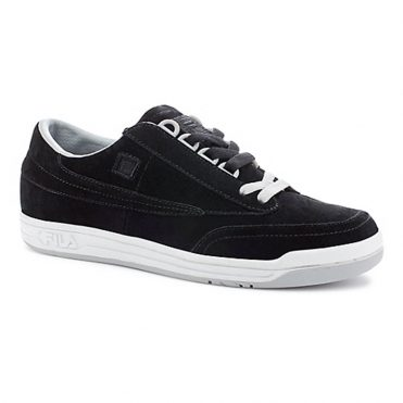 FILA Original Tennis Shoe Black Hirs White