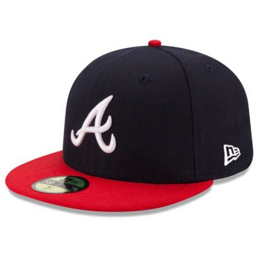 New Era 59Fifty Atlanta Braves 2017 Home Youth Authentic On Field Fitted Hat