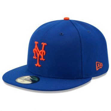 New Era 59Fifty New York Mets 2017 Game Youth Authentic On Field Fitted Hat