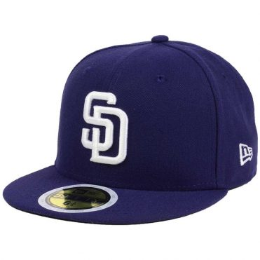 New Era 59Fifty San Diego Padres 2017 Home Youth Authentic On Field Fitted Hat