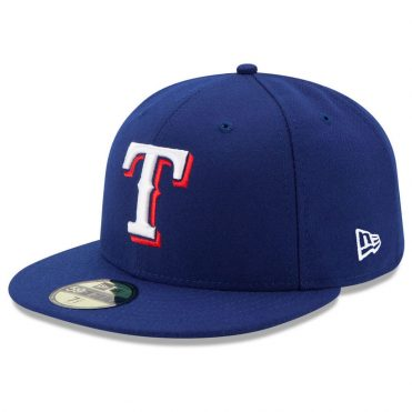 New Era 59Fifty Texas Rangers 2017 Game Youth Authentic On Field Fitted Hat