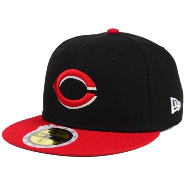 New Era 59Fifty Cincinnati Reds 2017 Alternate Youth Authentic On Field Fitted Hat