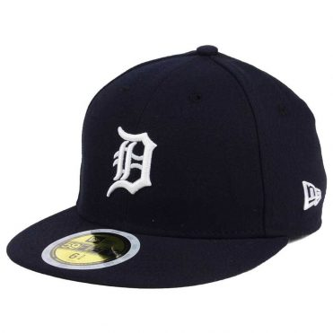 New Era 59Fifty Detroit Tigers 2017 Home Youth Authentic On Field Fitted Hat