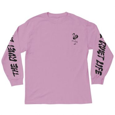 The Quiet Life Flamingo Long Sleeve T-Shirt Pink