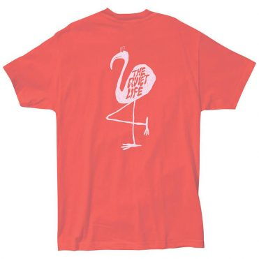 The Quitet Life Flamingo T-Shirt Coral
