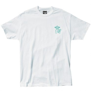 The Quiet Life Shhh T-Shirt White