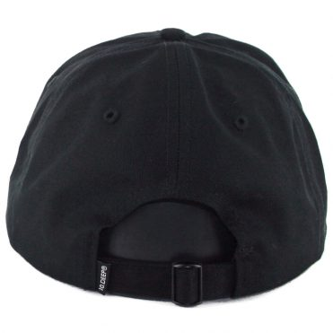 10 Deep Extended Play Strapback Hat Black