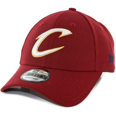 New Era 9Forty Cleveland Cavaliers The League Strapback Hat Burgundy