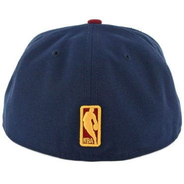 New Era  59Fifty Cleveland Cavaliers Two Tone Fitted Hat Navy Burgundy