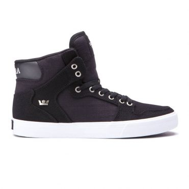 Supra Vaider Shoe Black White