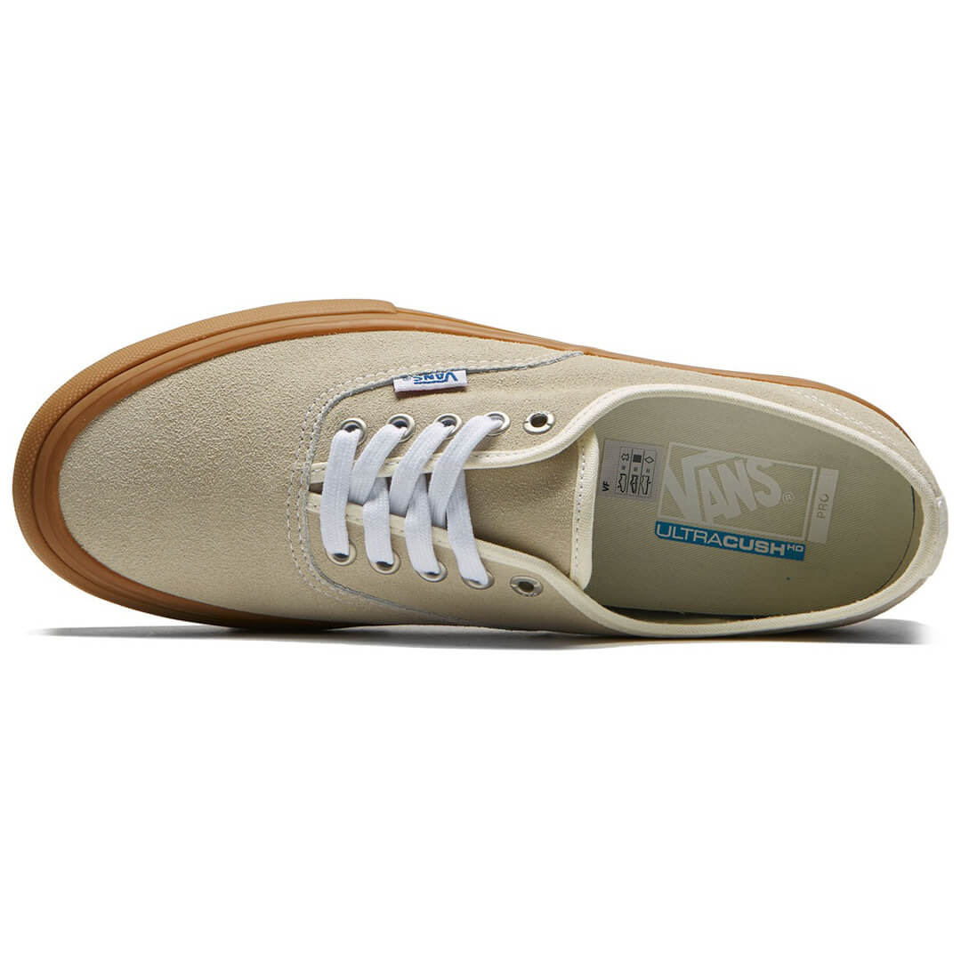 0ee3caac29 Vans Authentic Pro Shoe White Light Gum - Billion Creation Streetwear