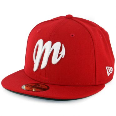 New Era 59Fifty Mexico City Diablos Rojos de Mexico Fitted Hat Scarlet Red