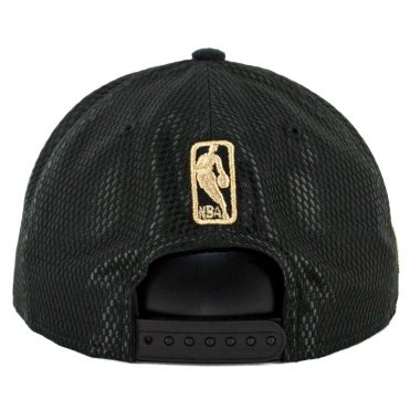 New Era 9Fifty Toronto Raptors On Court Official 2017 Snapback Hat Black