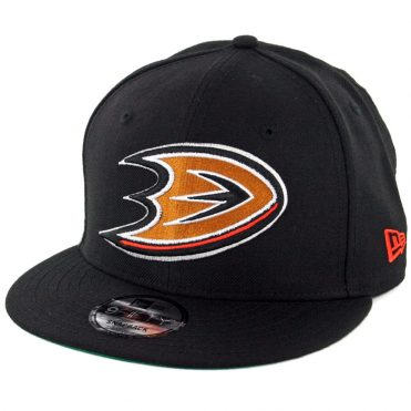 New Era 9Fifty Anaheim Ducks Snapback Hat Black
