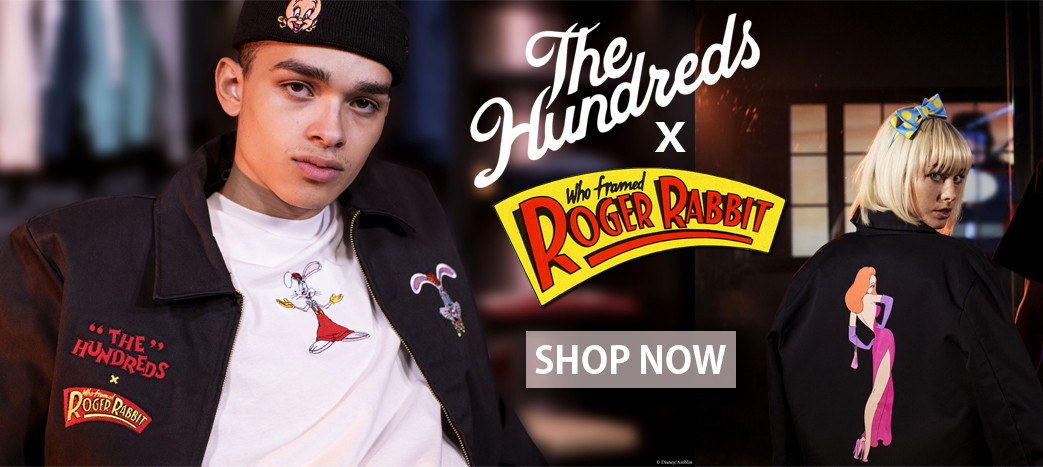 Available NOW! The Hundreds x Who Framed Roger Rabbit, SOLD OUT collection!