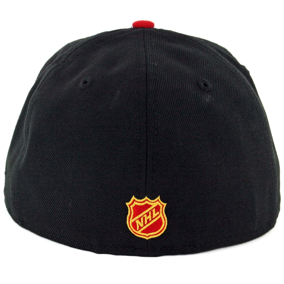 9a6c76cc82c73a New Era 59Fifty Chicago Blackhawks ALT Fitted Hat Black Scarlet Red. 🔍.  $32.00