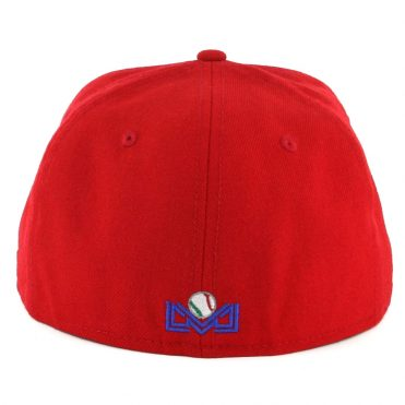 New Era 59Fifty Mexicali Aguilas Fitted Hat Red White
